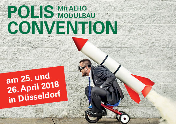 polis Convention 2018 mit ALHO