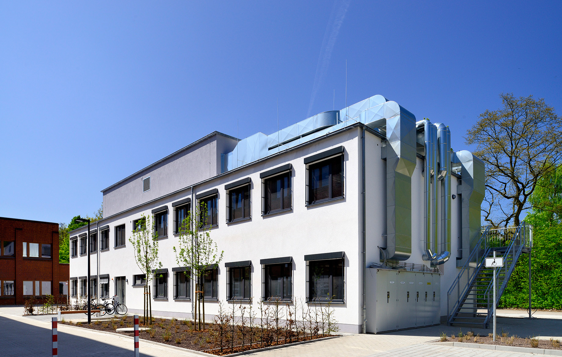 [Translate to Deutsch (CH):] Neubau Laborgebäude Modulbauweise Laborbau Uni Oldenburg