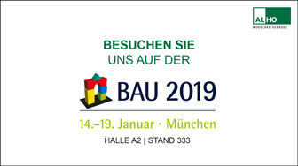 [Translate to Deutsch (CH):] BAU 2019 in München mit ALHO